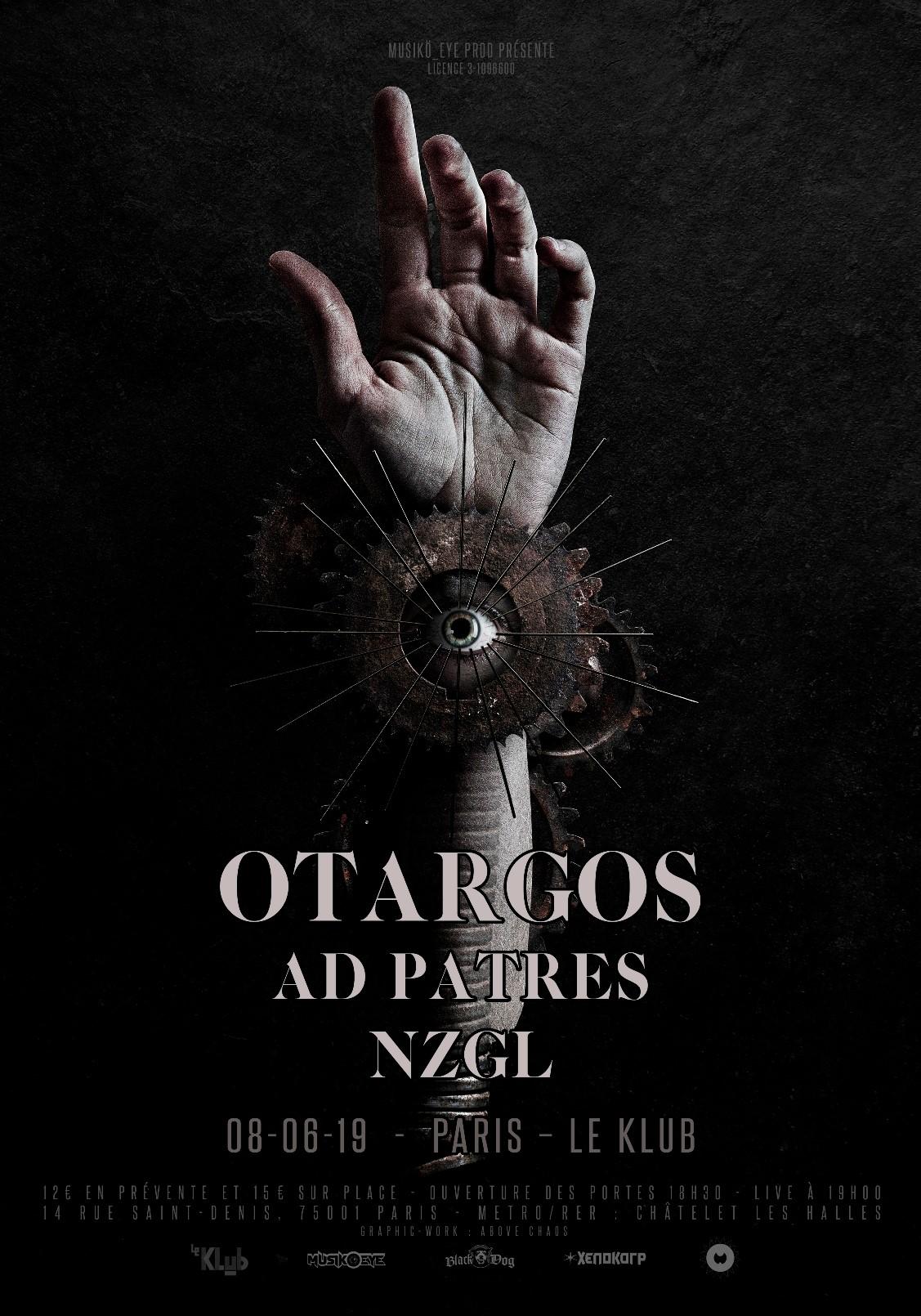 OTARGOS + AD PATRES + NZGL ■ 08.06