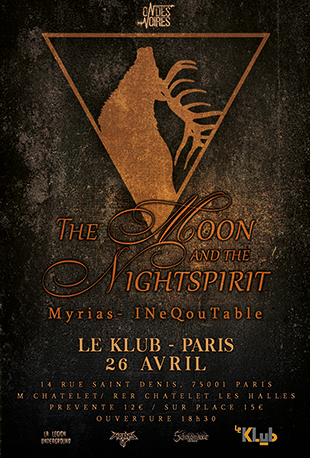 The Moon and the Nightspirit + Guest ■ 26.04