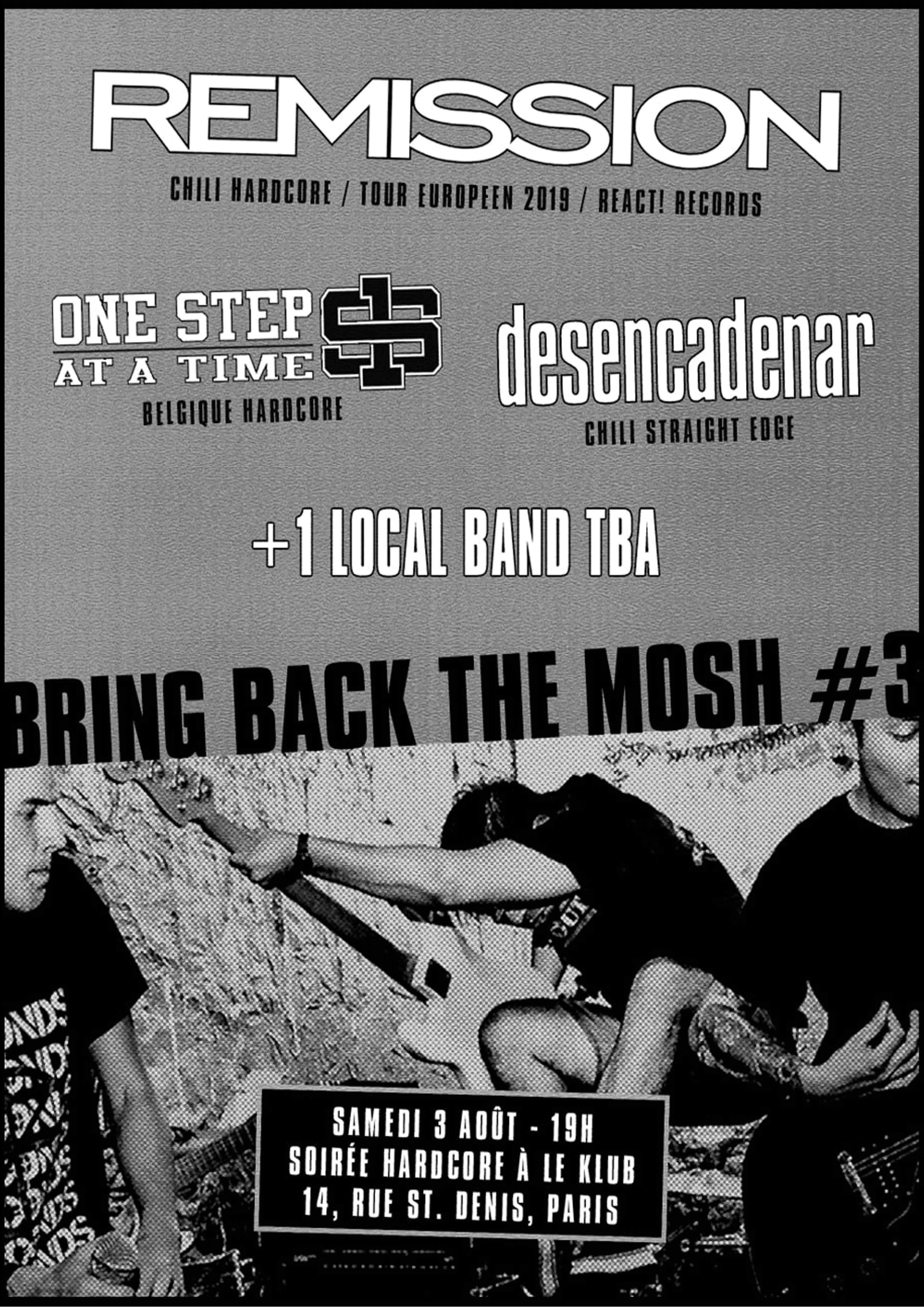 Bring Back The Mosh // 03.08