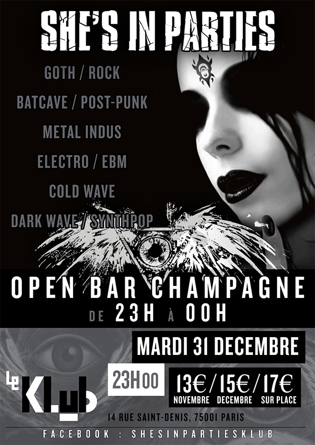 She's In Parties du nouvel an // 31.12