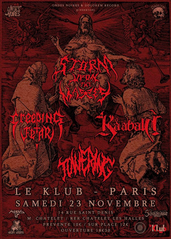 Dolorem Death Metal Assault // 23.11