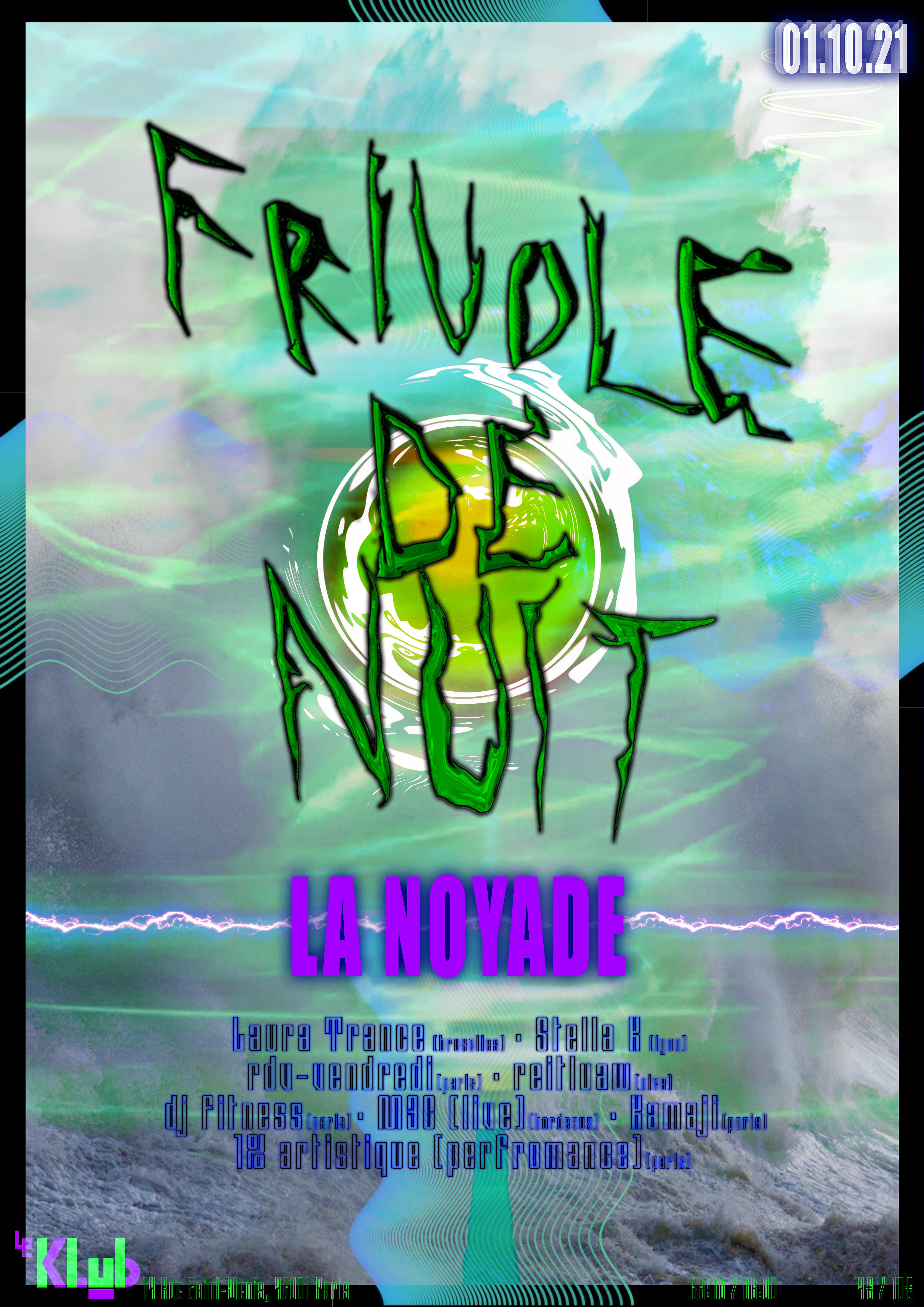 FRIVOLE DE NUIT ■ 01.10
